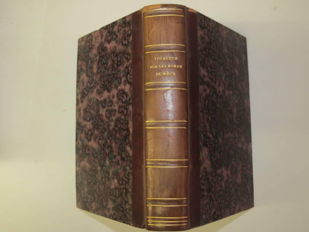 MANUEL DU VOYAGEUR SUR LES BORDS DU RHIN par RICHARD, Livres rares (1ère édition, livres illustrés, tirages limités), Livres | Puces Privées